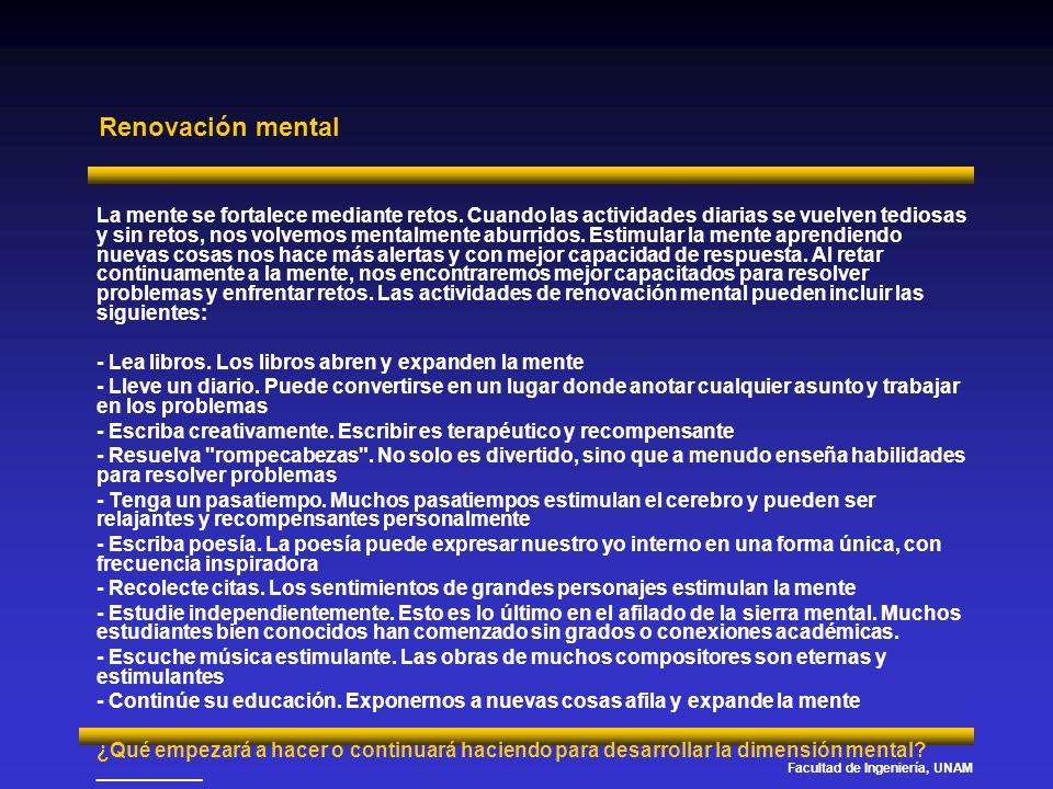 Renovación mental