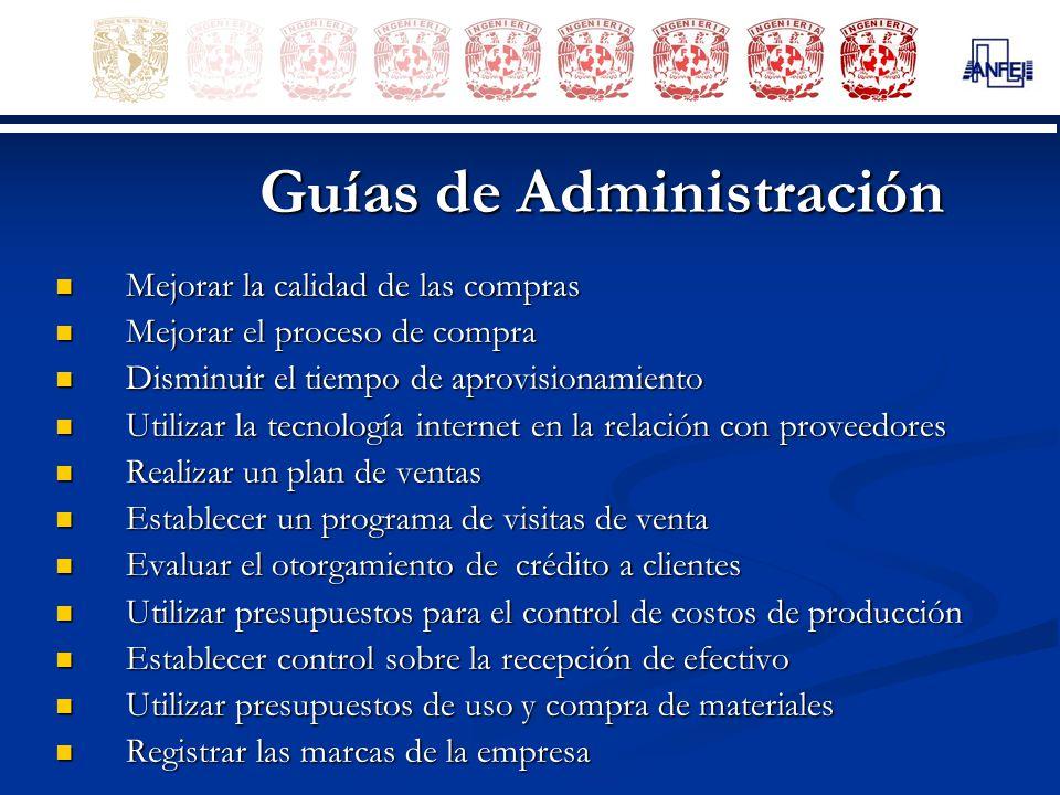 Guías de Administración
