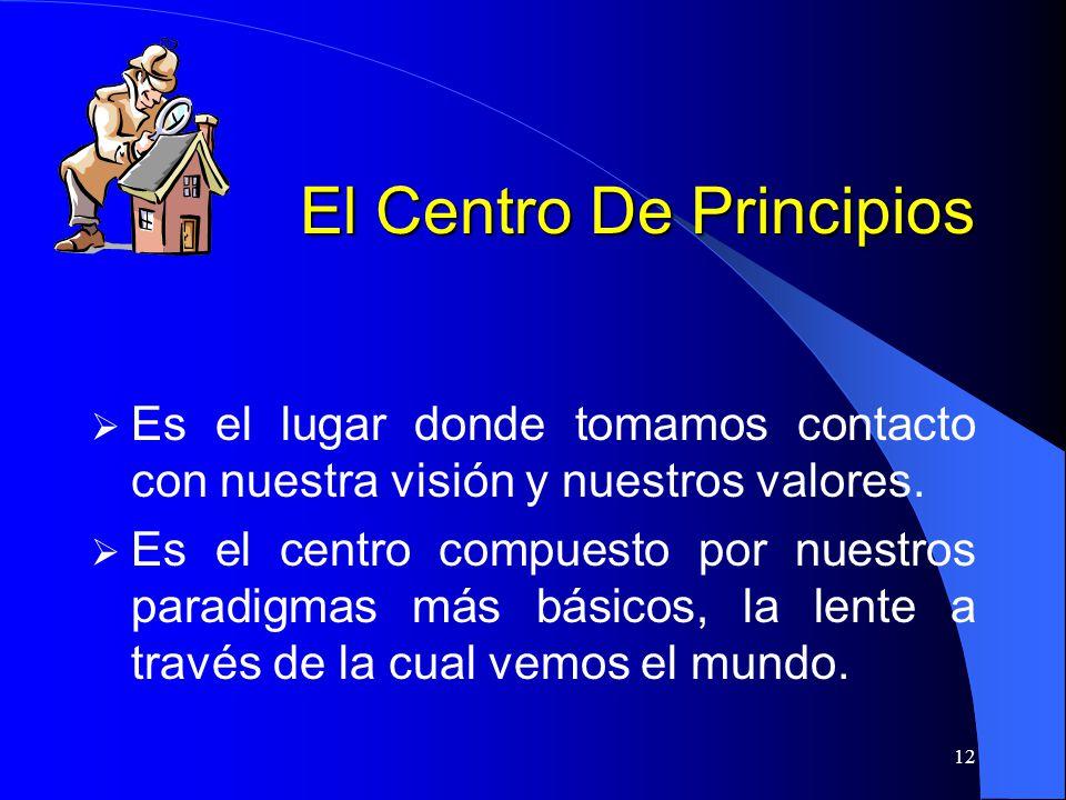 El Centro De Principios