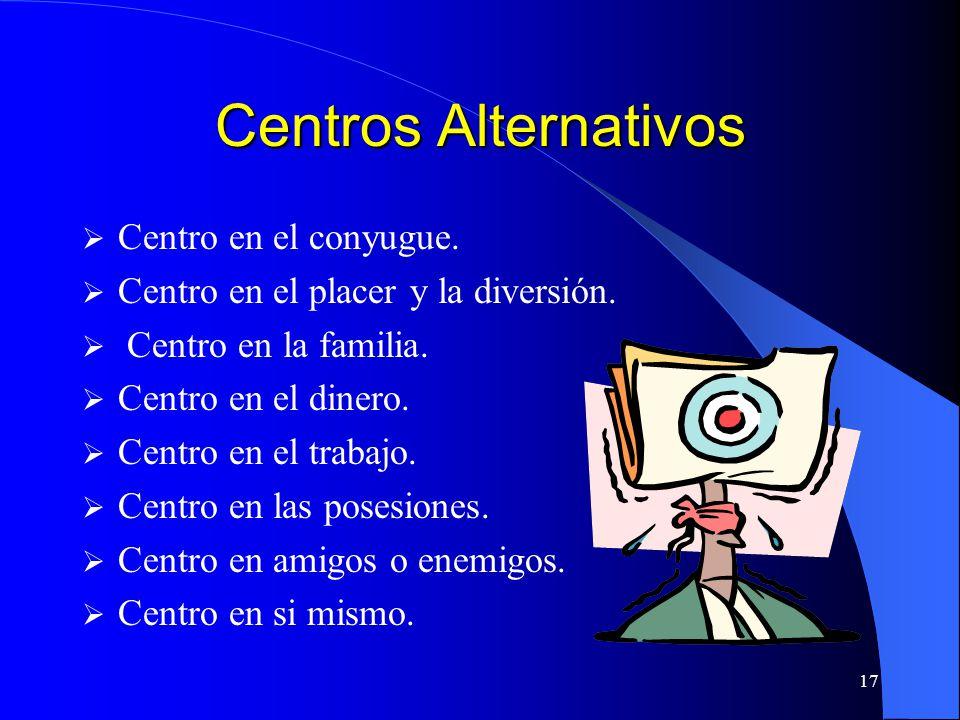 Centros Alternativos Centro en el conyugue.