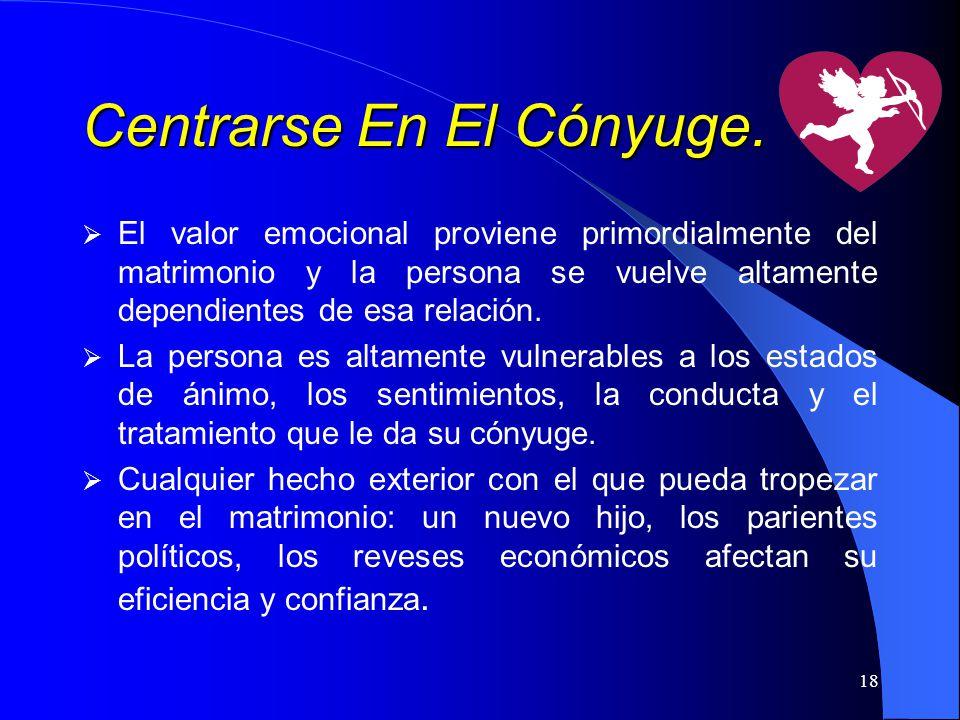 Centrarse En El Cónyuge.