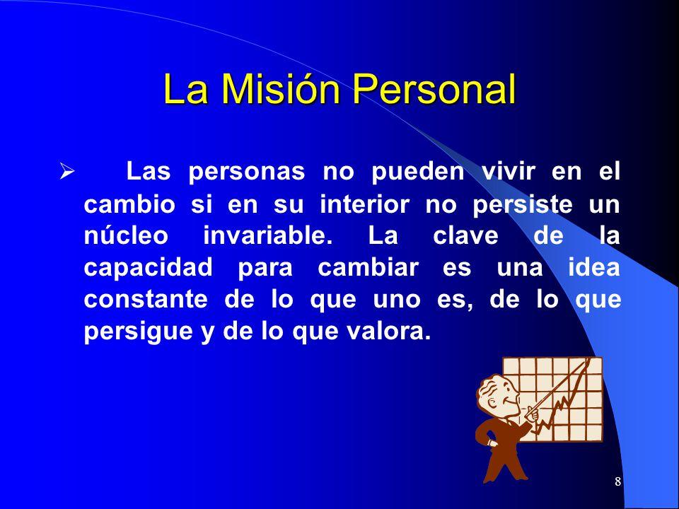 La Misión Personal