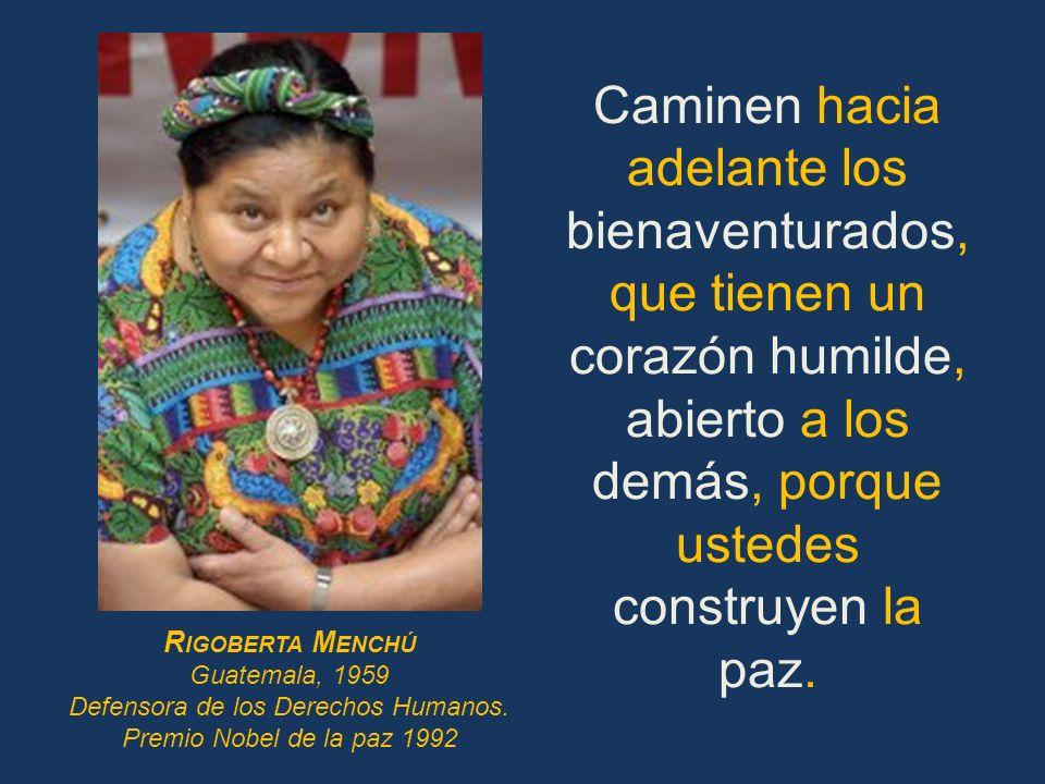 Defensora de los Derechos Humanos.