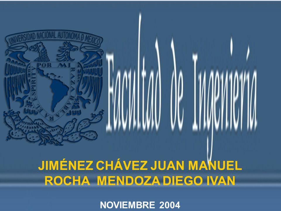 JIMÉNEZ CHÁVEZ JUAN MANUEL ROCHA MENDOZA DIEGO IVAN