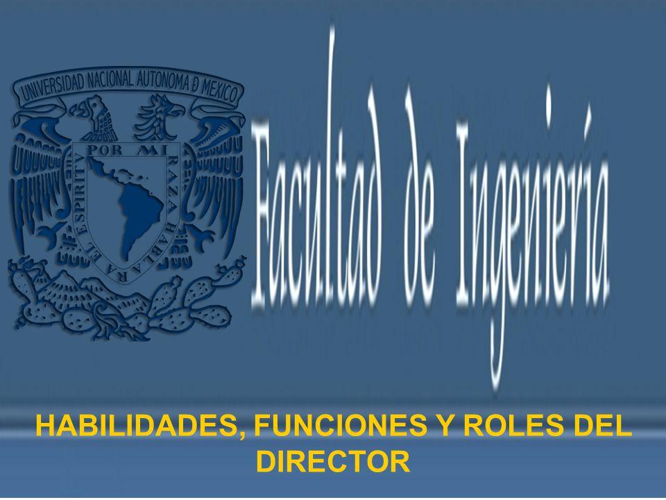HABILIDADES, FUNCIONES Y ROLES DEL