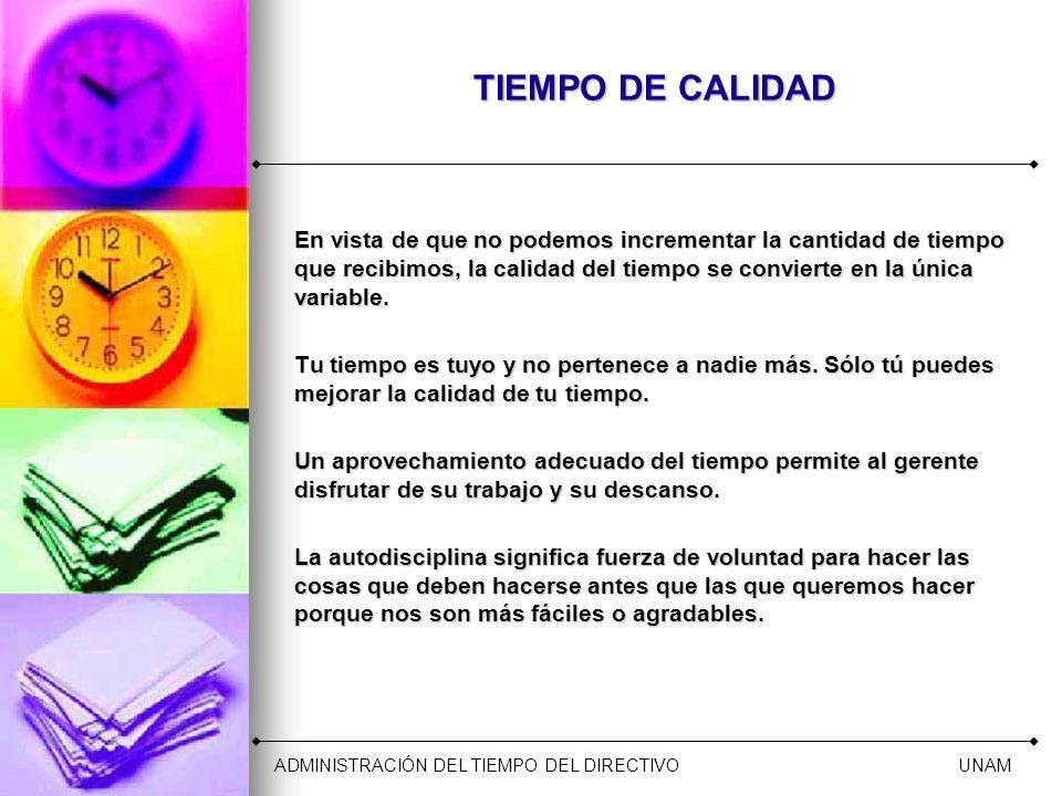 TIEMPO DE CALIDAD