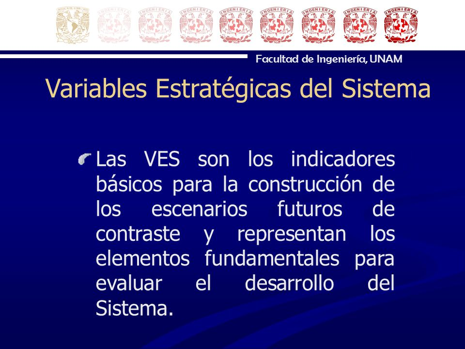 Variables Estratégicas del Sistema