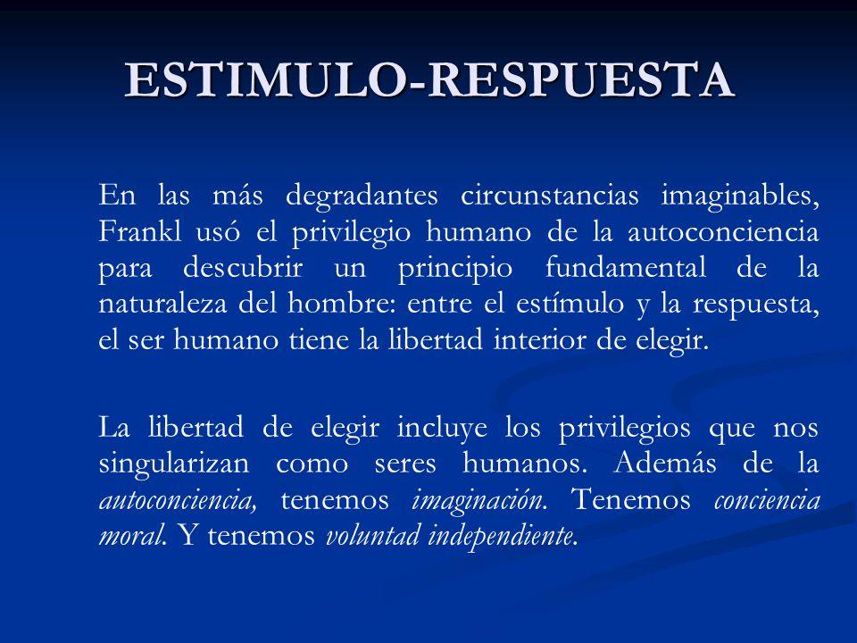 ESTIMULO-RESPUESTA