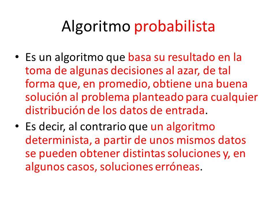 Algoritmo probabilista