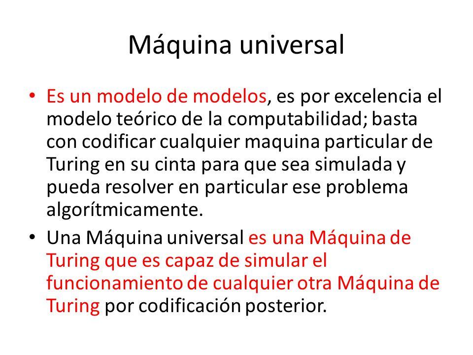 Máquina universal
