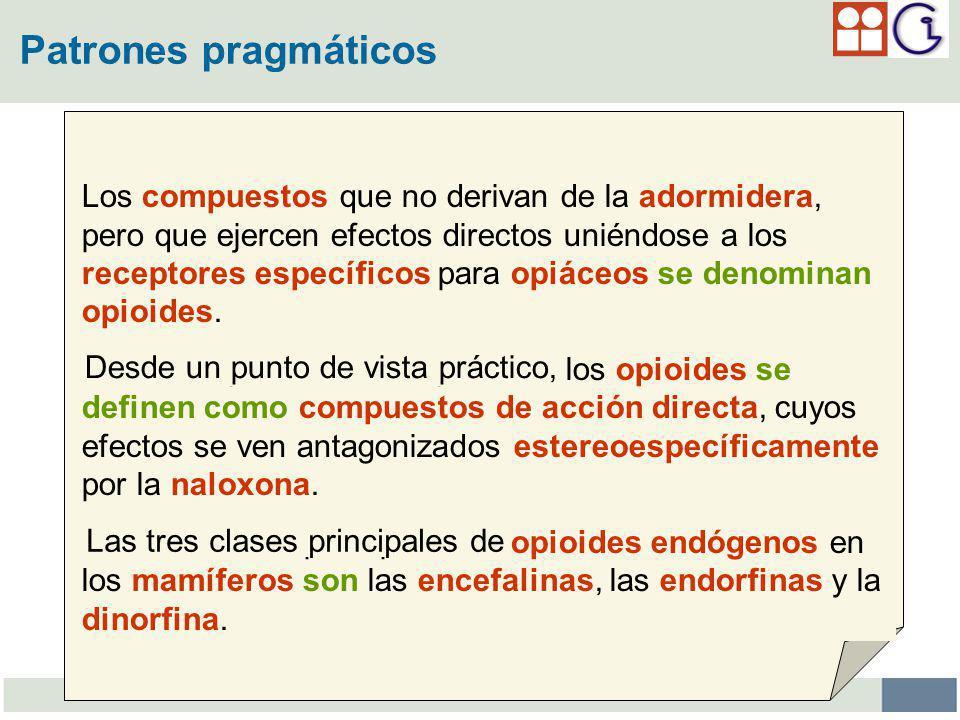 Patrones pragmáticos