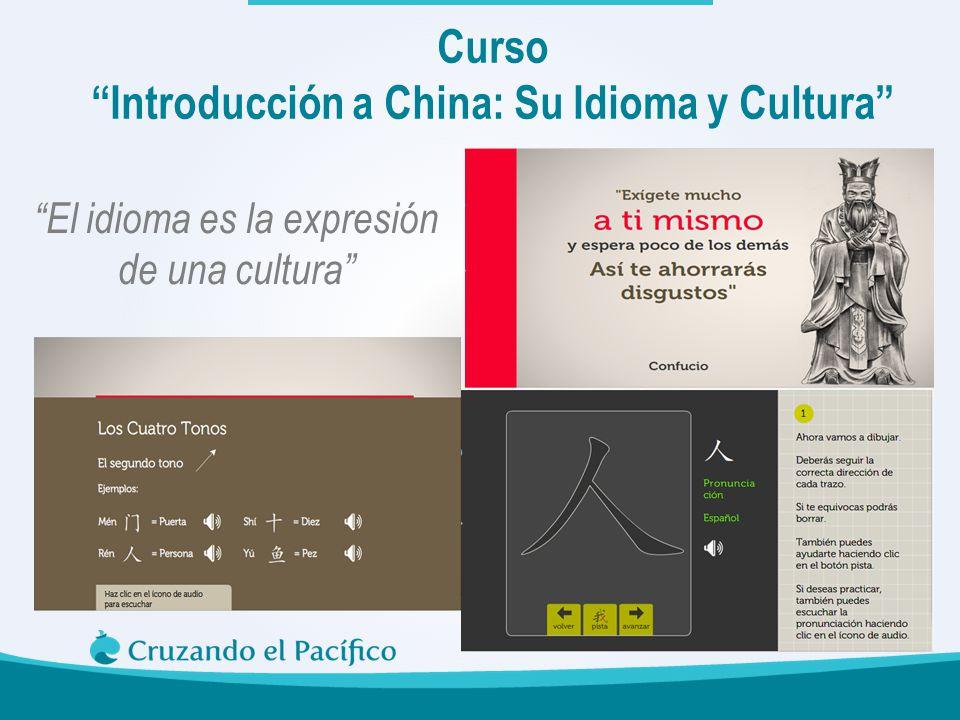 Curso Introducción a China: Su Idioma y Cultura