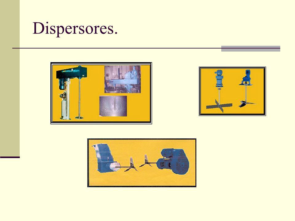 Dispersores.