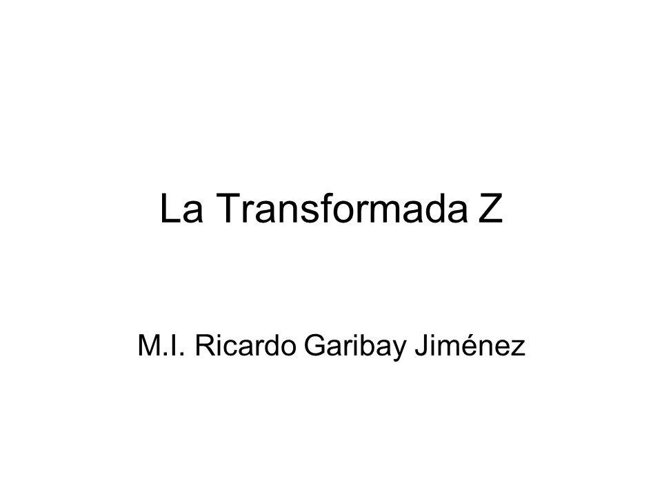 M.I. Ricardo Garibay Jiménez