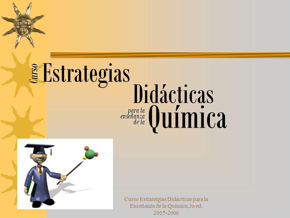 Química Estrategias Didácticas Curso para la enseñanza de la