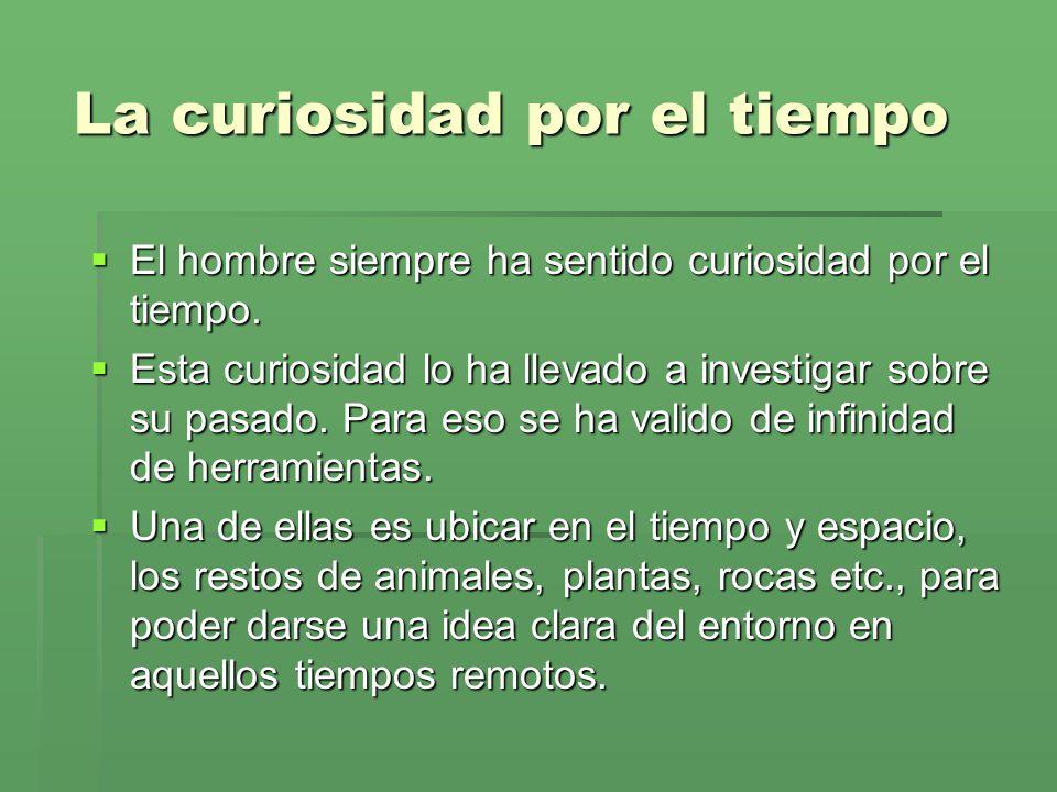 La curiosidad por el tiempo