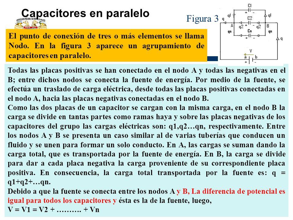 Capacitores en paralelo