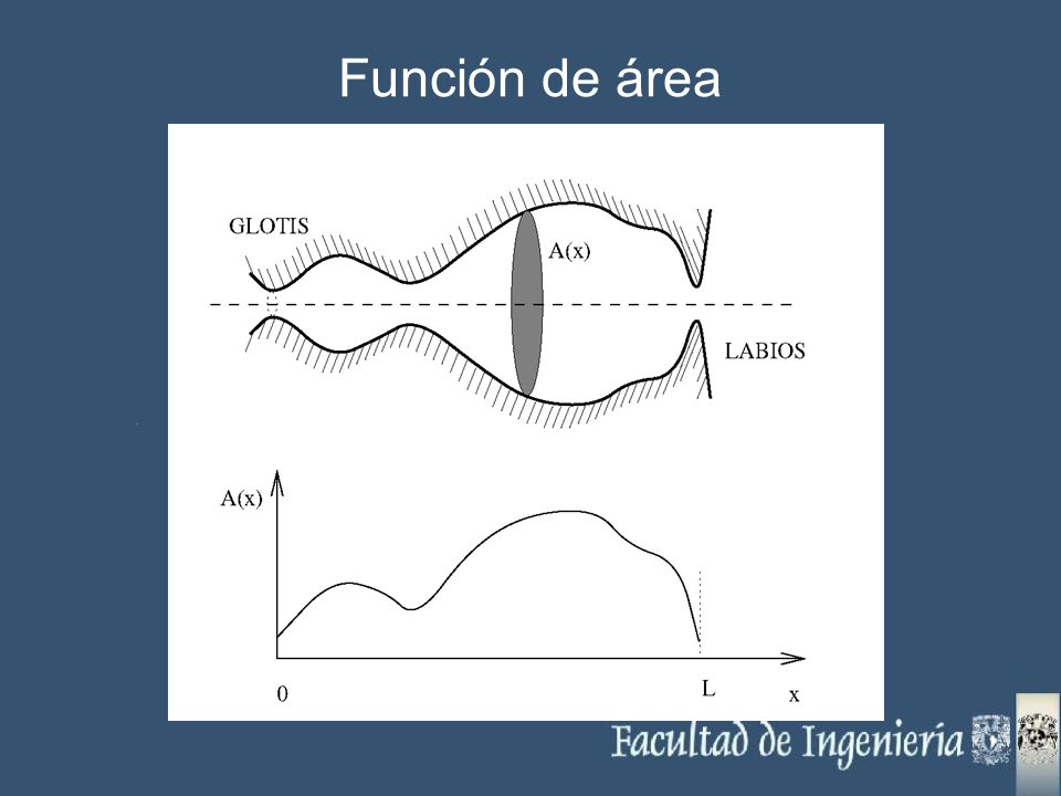 Función de área