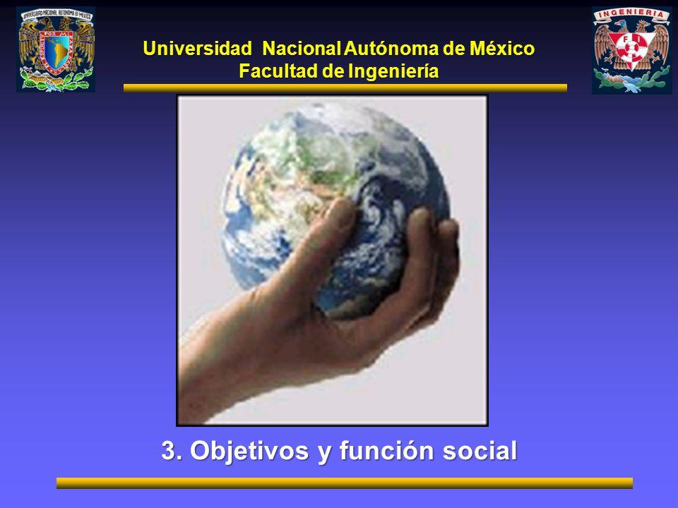 3. Objetivos y función social