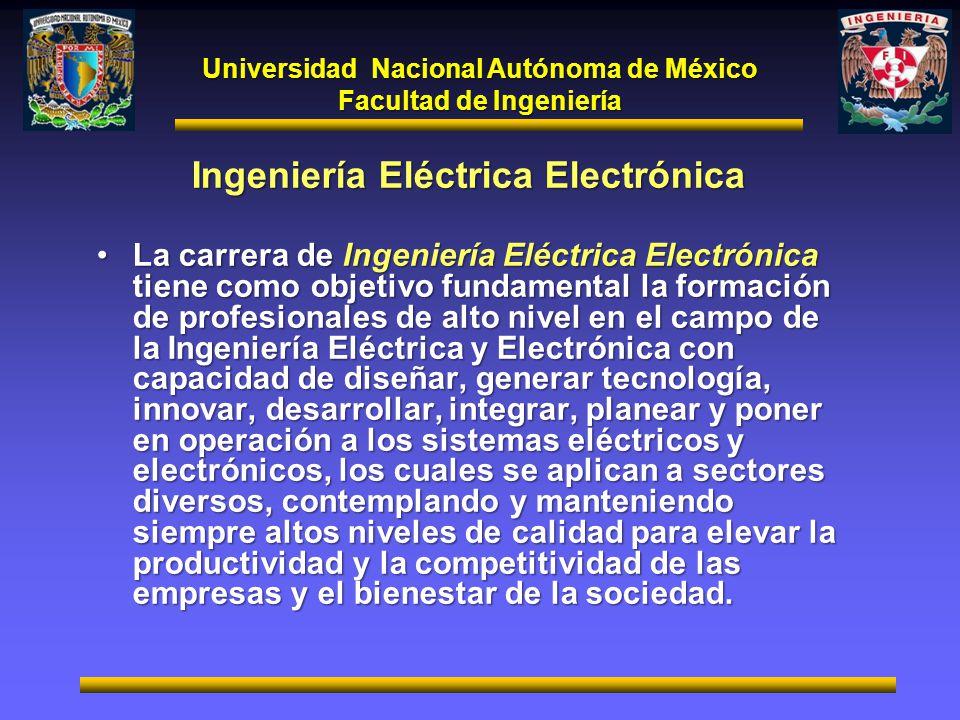 Ingeniería Eléctrica Electrónica