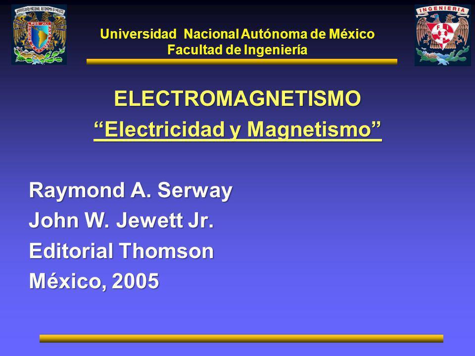 ELECTROMAGNETISMO Electricidad y Magnetismo