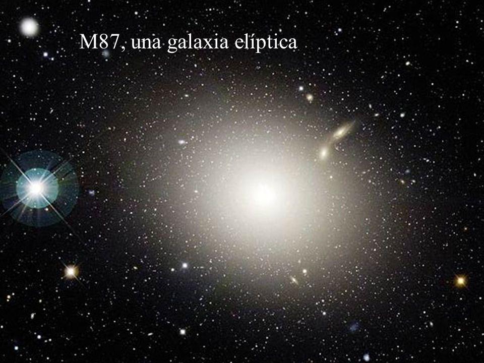 M87, una galaxia elíptica