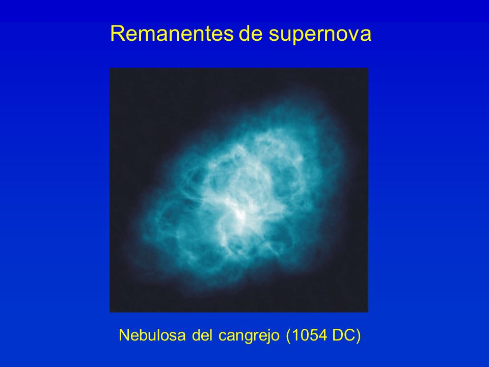 Remanentes de supernova
