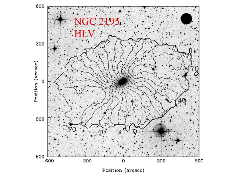 NGC 2195 HI V