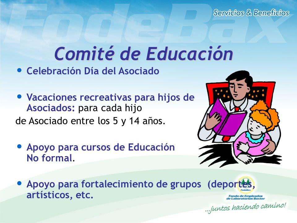 Comité de Educación Celebración Día del Asociado