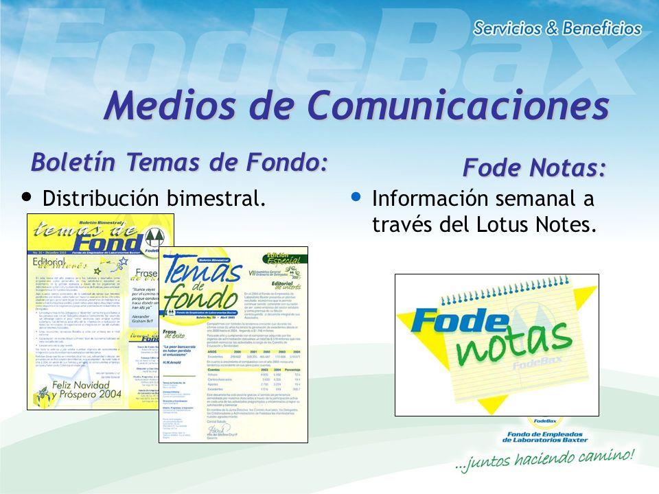 Medios de Comunicaciones