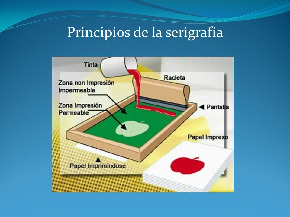 Principios de la serigrafía