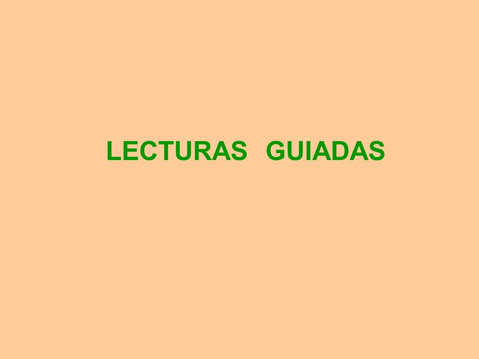 LECTURAS GUIADAS