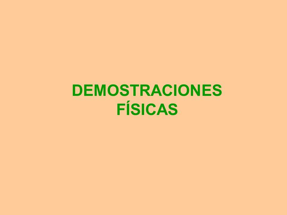 DEMOSTRACIONES FÍSICAS