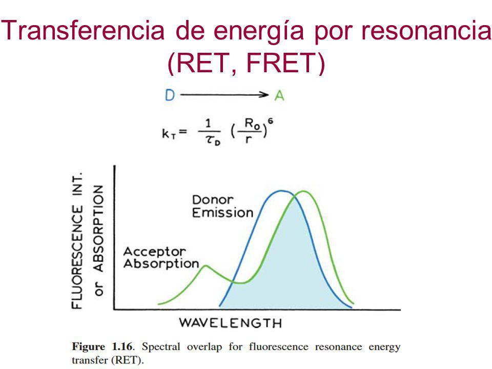 Transferencia de energía por resonancia (RET, FRET)