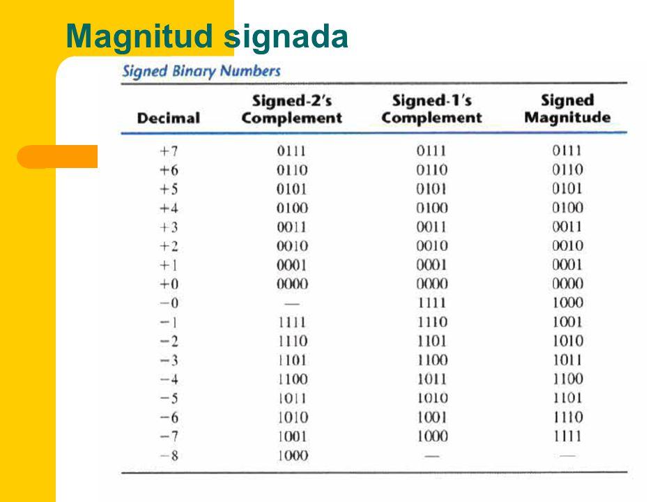 Magnitud signada