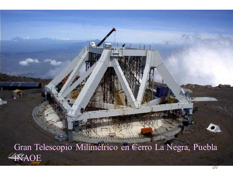 Gran Telescopio Milimétrico en Cerro La Negra, Puebla INAOE