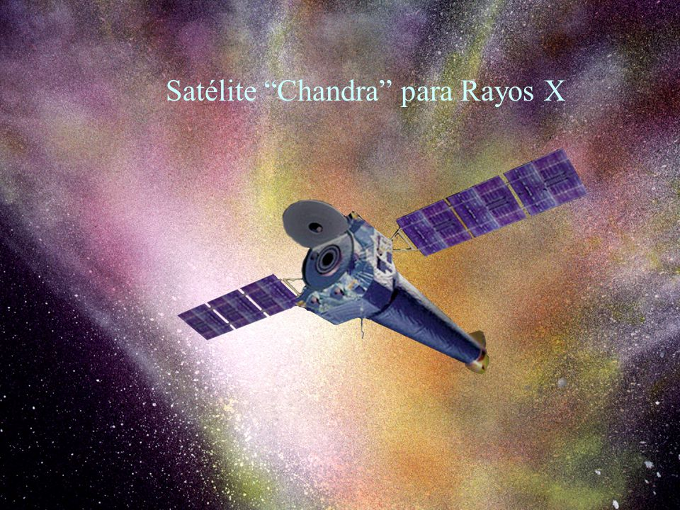 Satélite Chandra para Rayos X
