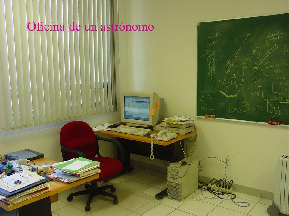 Oficina de un astrónomo