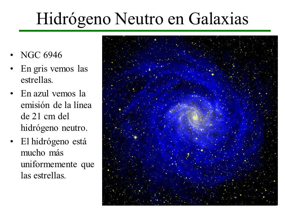 Hidrógeno Neutro en Galaxias