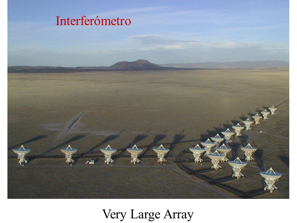 Interferómetro Very Large Array