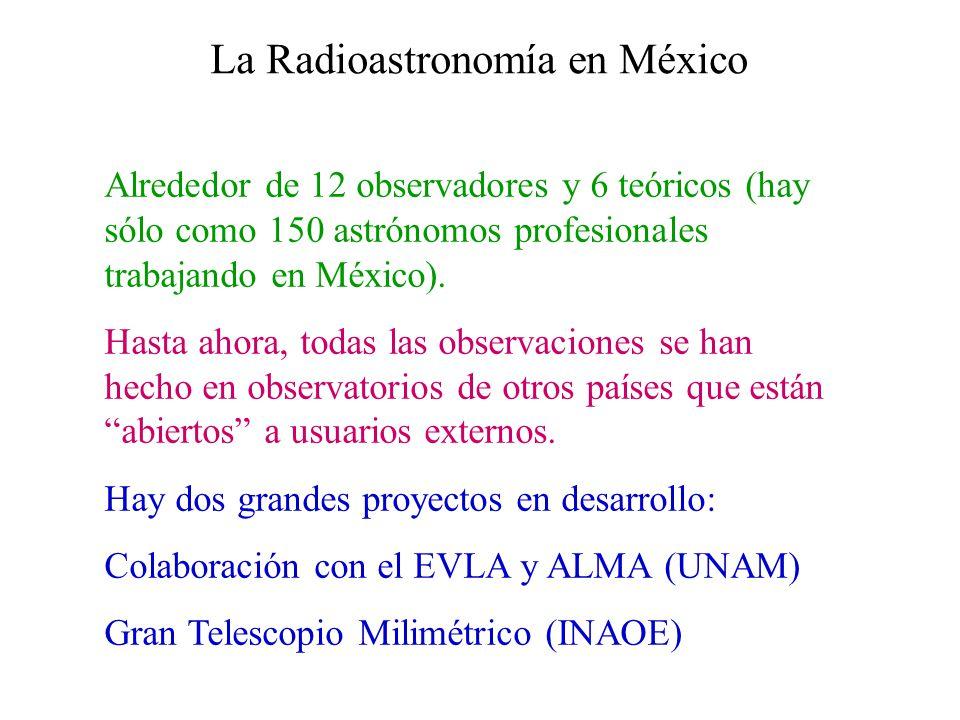 La Radioastronomía en México