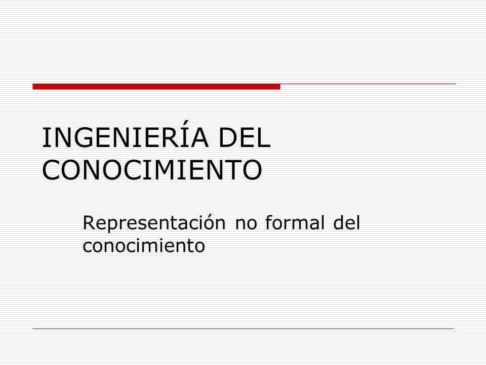 INGENIERÍA DEL CONOCIMIENTO