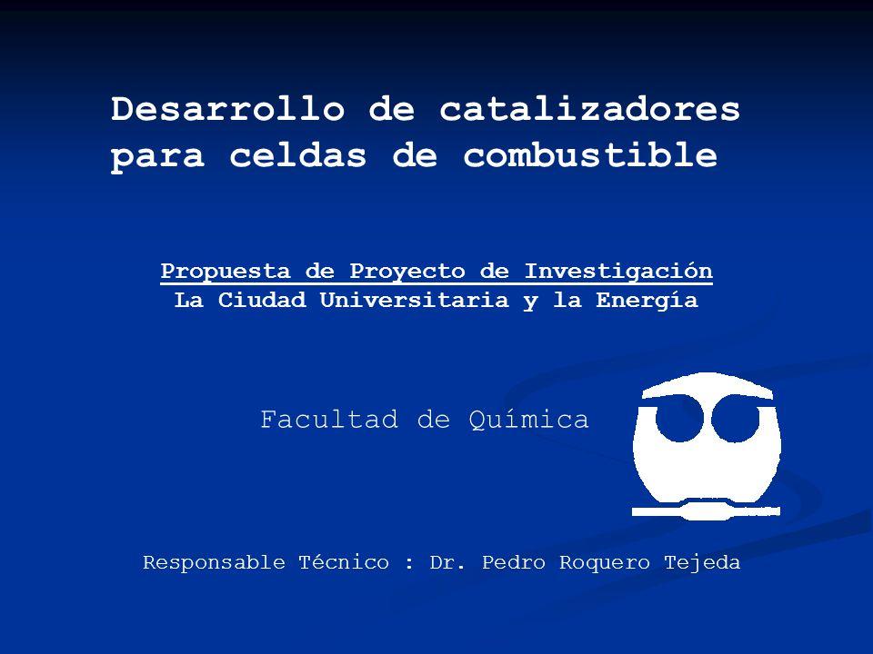 Desarrollo de catalizadores para celdas de combustible