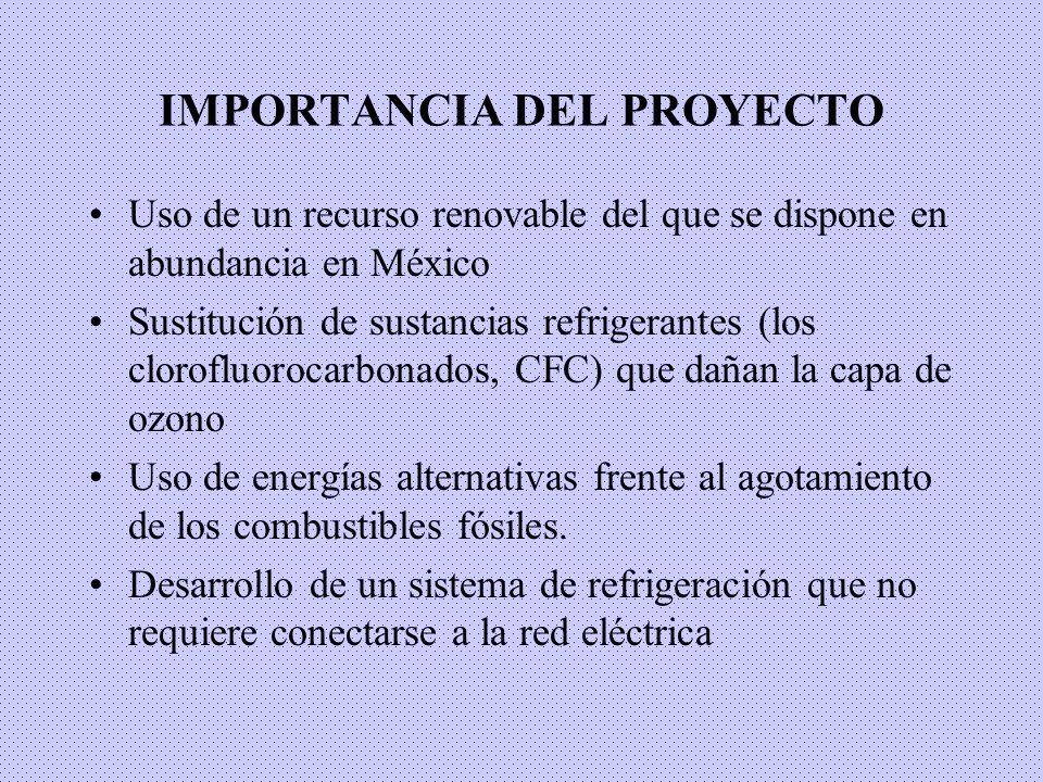 IMPORTANCIA DEL PROYECTO