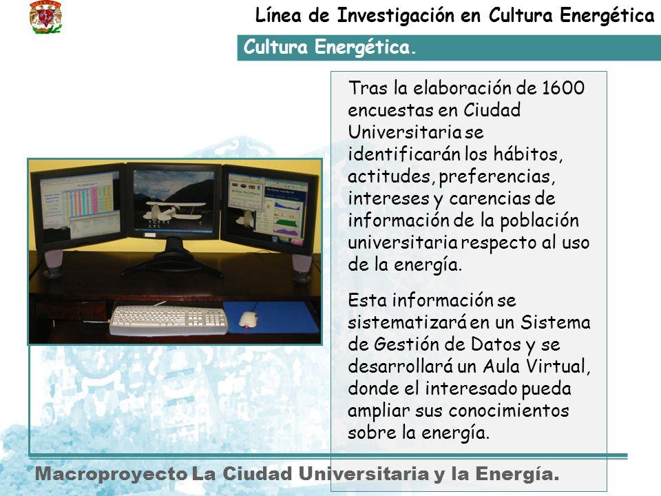 Línea de Investigación en Cultura Energética