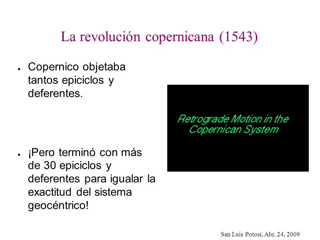 La revolución copernicana (1543)