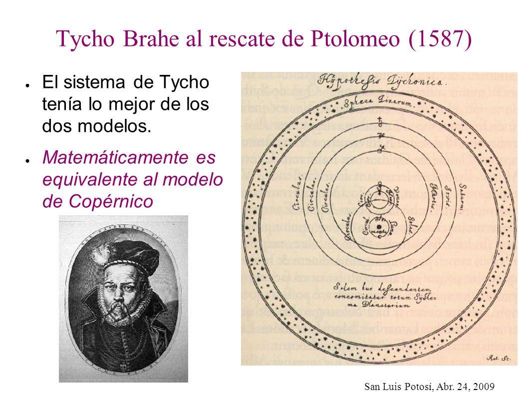 Tycho Brahe al rescate de Ptolomeo (1587)