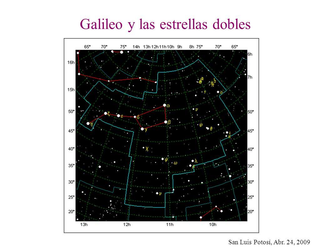 Galileo y las estrellas dobles