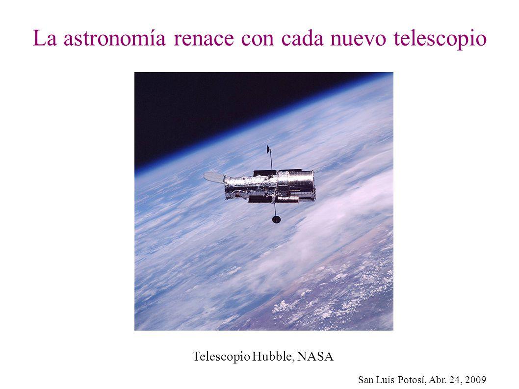 La astronomía renace con cada nuevo telescopio