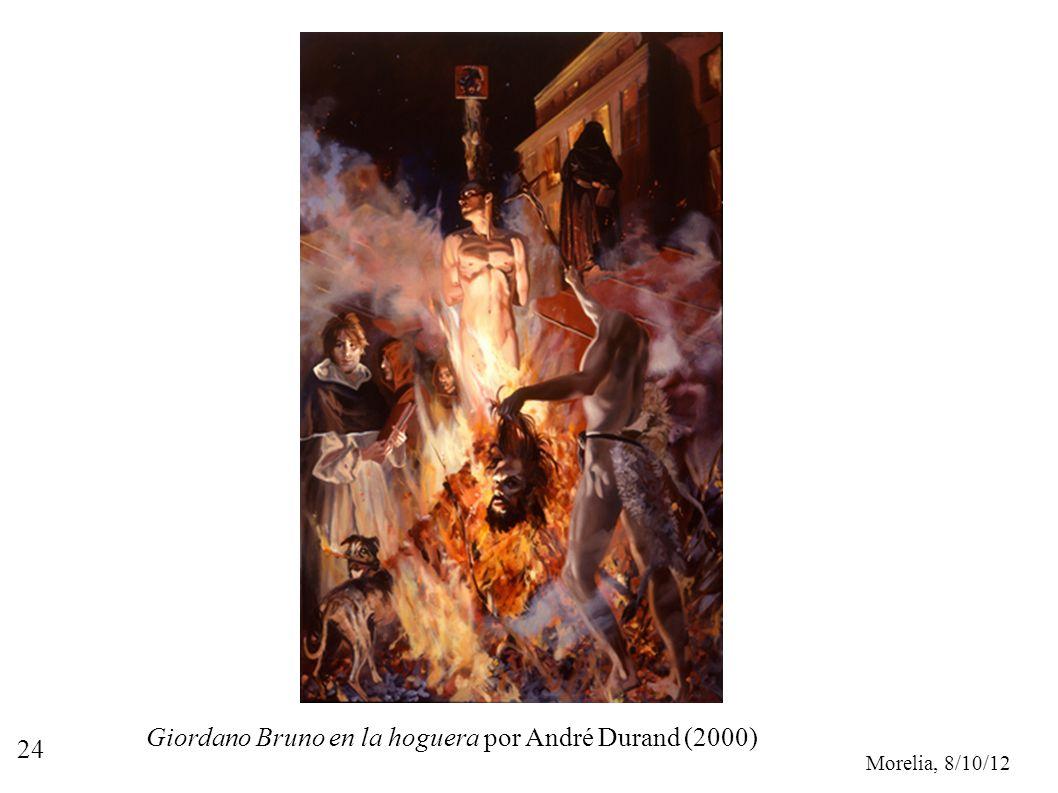 Giordano Bruno en la hoguera por André Durand (2000)